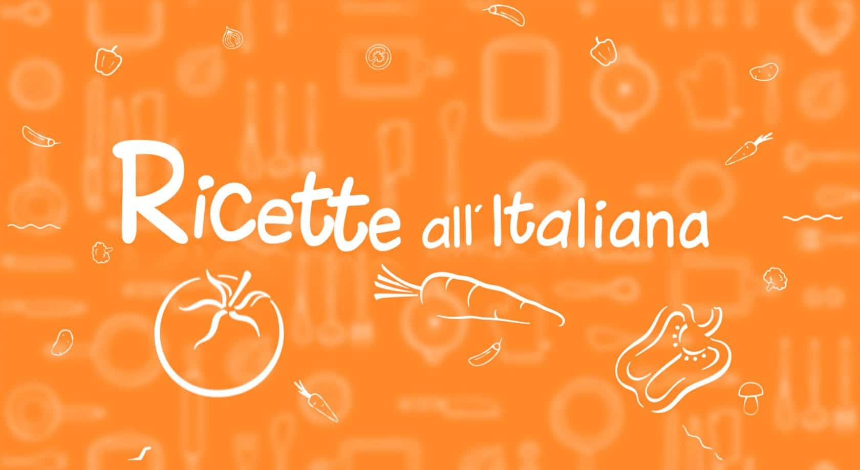 copertina ricette all'italiana